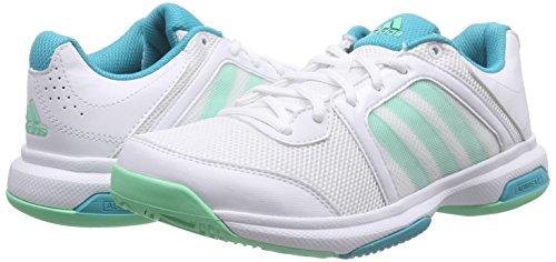 Glow De S16 Weiß Femme Chaussures Tennis Str Green shock Barricade Adidas Aspire green S16 ftwr White Blanc qWgwIFq7