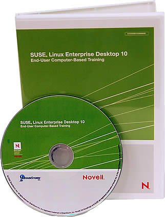 Novell Suse Linux Enterprise Desktop 10 Computer Based Training CD- Learn Linux with Over 8 Hours of Lessons on CD. Covers Over 200 Suse Linux Desktop Software Operating System Features From Basic to Advanced Including; Firefox Use, Configuring Printers,