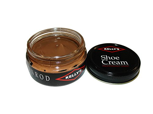 Made in USA Fiebing's Co., Inc. Kelly's Shoe Cream Leather Polish many colors available. (GOLDENROD)