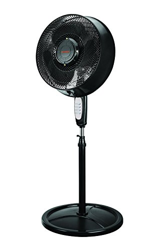 Remington 16' Oscillating Outdoor Misting Fan with 4 Nozzles for Cooling Patios, Pool Sides, Gardens, Worksites and Decks