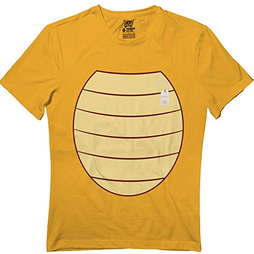 Yellow Kids Turtle Suspenders Halloween Cute Matching Team