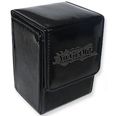 YuGiOh Card Supplies Ion Deck Box Black: Toys & Games