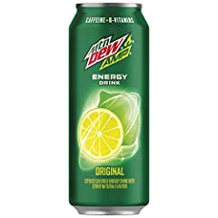 Energy you need, flavors you crave. MTN DEW AMP Energy is available in a 12 pack of 16 ounce cans in the following flavors; Original, Cherry Blast, Watermelon (zero sugar), Strawberry Limeade, Passion Fruit and Blueberry White Grape (zero sug...
