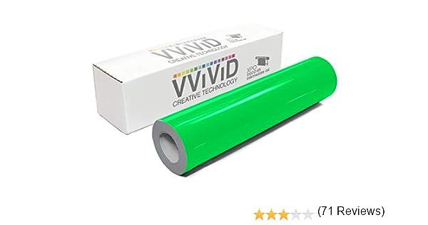 VViViD DECO65 - Rollo de vinilo adhesivo permanente fluorescente ...