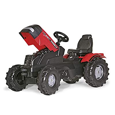 Rolly Toys CASE FarmTrac Puma Kids Pedal Tractor: Toys & Games