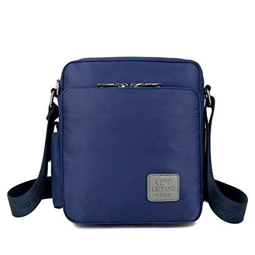 La Crossbody De Escuela Lona Travel El Pequeño Para Azul Bolso Y Aszhdfihas Bags color Trabajo Messenger Negro Bolsa Hombro Mensajero Cx8zd8q