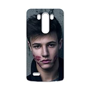 Romantic man red lip face Cell Phone Case for LG G3
