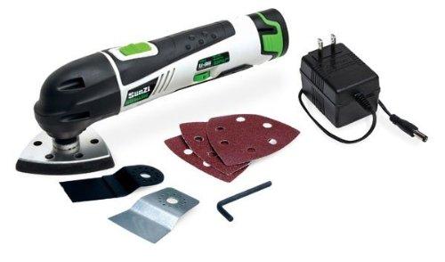 SunZi PT12301-11 Cordless 12V Variable Speed Lithium-Ion Multi-Tool Oscillating Kit by SunZi Products Inc. (Image #6)