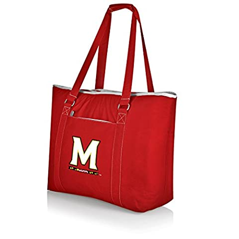 NCAA Maryland Terrapins Tahoe Extra Large Insulated Cooler Tote, Red - Maryland Terps Ncaa Basketball