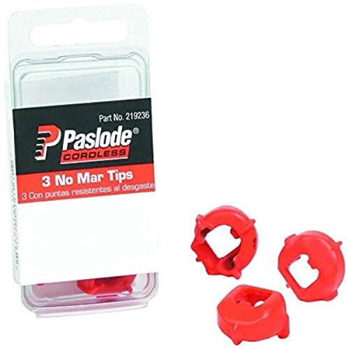 NEW 3 pack Paslode Part # 219236 No-Mar Tips, 16