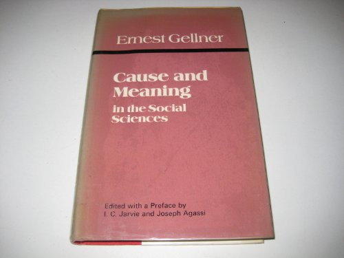 Download Cause and Meaning in the Social Sciences Read / PDF
