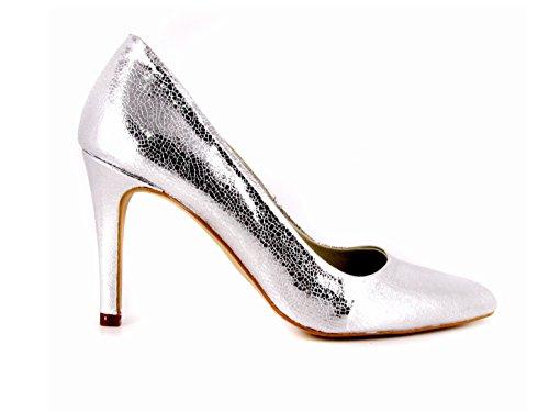 Loca Argento Svelto Zapato Salón Inoubliable Lova Plata 0qdpfxfA