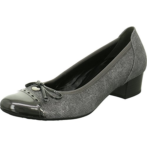 Gabor Shoes Comfort Fashion, Zapatos de Tacón para Mujer Marrón (63 Fumo/steel)