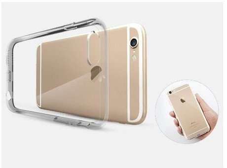 Vanki® Funda para iPhone 6 Plus / iPhone 6S Plus,Ultra Slim TPU Bumper Case Carcasa Gel Ligero Flexible Funda para iPhone 6 Plus / iPhone 6S Plus 9
