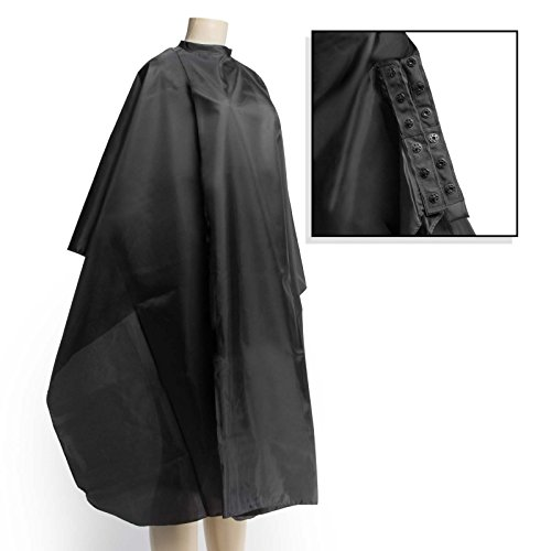 Salon Sundry Professional Hair Salon Nylon Cape with Snap Closure - 50