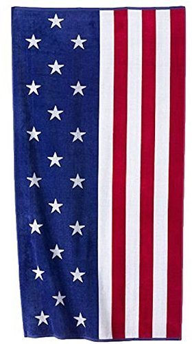 (Celebrate Summer Together Americana Beach Towel)
