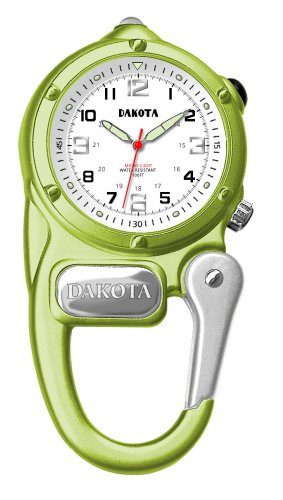 Dakota Women's Quartz Metal and Alloy Watch, Color:Lime Green (Model: 38820)