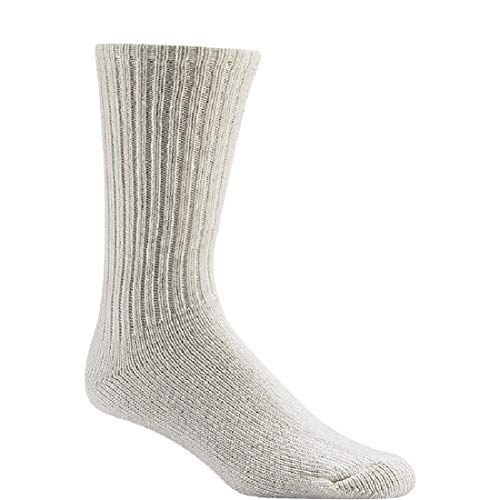 (Wigwam 625 Light Weight Wool Athletic Socks, White, X-Large)