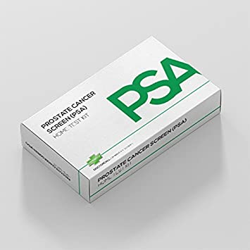 Prostate Cancer Screen (PSA) Home Testing Kit - UK