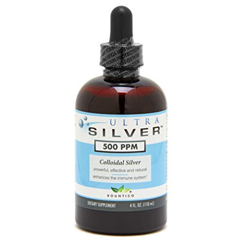 Ultra Silver Colloidal Silver 500 PPM - 4 Oz