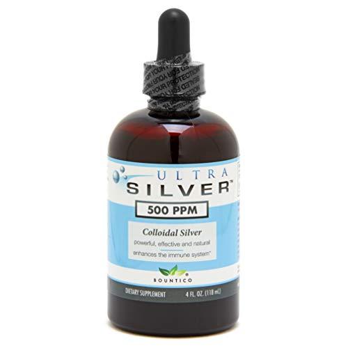 Ultra Silver Colloidal Silver 500 PPM - 4 Oz (Colonial Silver)