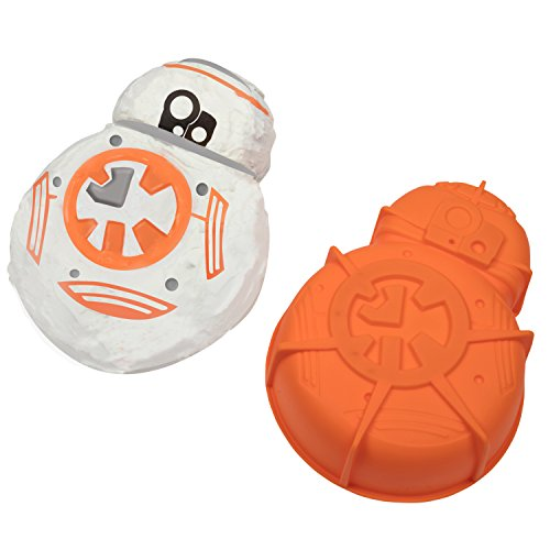 Star Wars BB-8 Silicone Cake Mold - Great for Themed and Birthday Parties - 10
