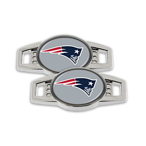 (NFL New England Patriots Shoe Charm, 2-Pack)