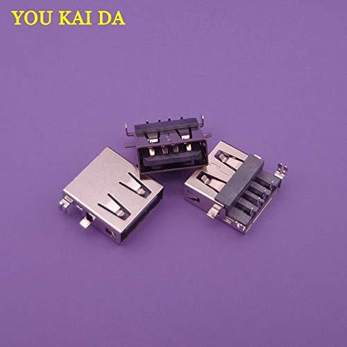 Package: 30PCS Gimax 5-100pcs//lot Common Laptop USB Jack,micro USB 2.0 Connector mini usb socket pcb charging port power