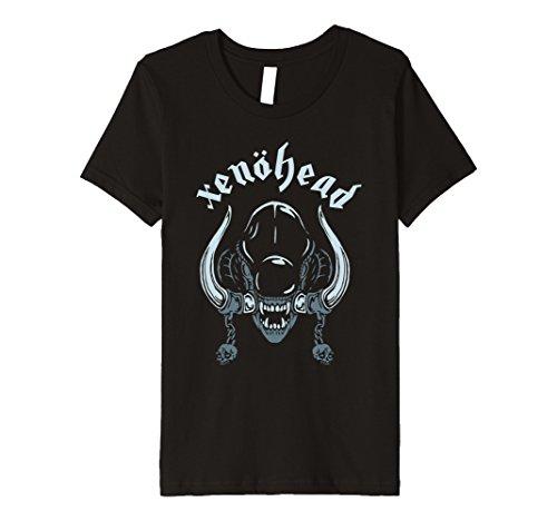 Kids Psychobilly Horror Punk Rock T-Shirt  Xenohead Monster