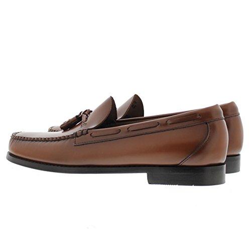 G.H. Bass Larkin Tassel Loafers Mid Brown Leather paF0KT