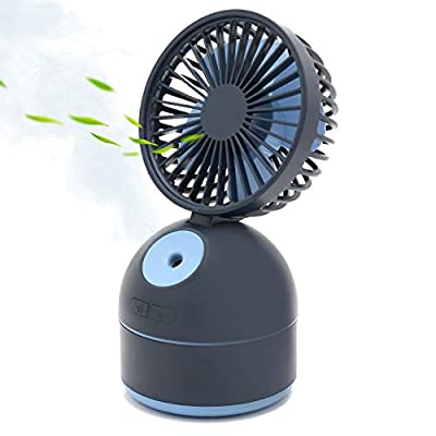 Personal Battery Operated Fan with Spray
