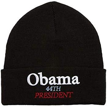 SupremeNewYork Supreme Obama Beanie Black 100% Authentic Real Designer Sold  Out Rare- 68768922737
