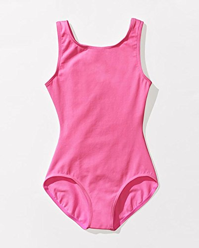 Price comparison product image Capezio Kids Baby Girl's Classic High Neck Tank Leotard (Toddler/Little Kids/Big Kids) Candy Pink Youth Large Big/10-12