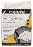 Presto Pressure Cooker Sealing Ring With Air Vent and Over Pressure Plug 6 Qt. (09902)