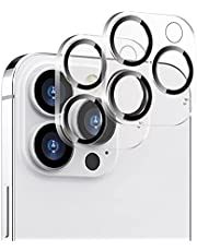 [2 Pack] ZUSLAB Camera Lens Screen Protector for iPhone 13 Pro/iPhone 13 Pro Max Tempered Glass-Anti-Scratch 9H Hardness HD Clear
