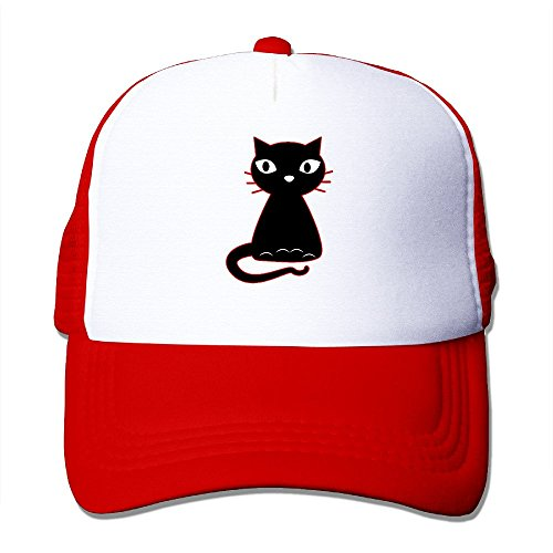 Arlington Gravy (LINNA Fancy Cat Cotton Hats Camping Cap For Outdoor Sports Red)