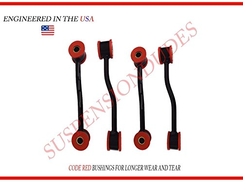 4PC Front/Rear Sway Bar Links For 1999-2004 Jeep Grand Cherokee K3201 K3202 4WD