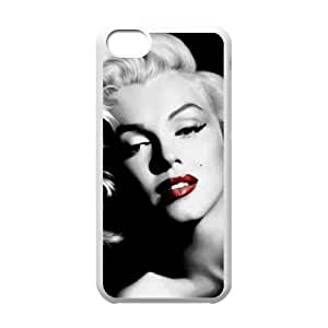 iPhone 5C Cell Phone Case White Marilyn Monroe AFK347612
