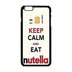 Keep Calm And Eat Nutella Cell Phone Case for Iphone 6 Plus