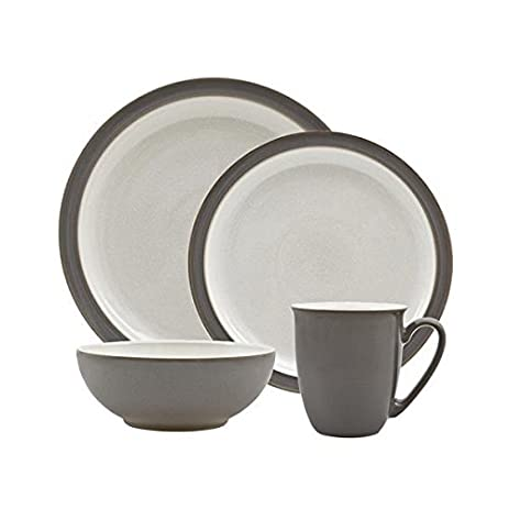 Denby Blends Truffle/Canvas 16 Pc Dinnerware Set  sc 1 st  Amazon.com & Amazon.com | Denby Blends Truffle/Canvas 16 Pc Dinnerware Set ...