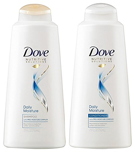Dove Hair Therapy Daily Moisture Shampoo and Conditioner Set