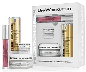 Amazon.com : Peter Thomas Roth 4-Piece Un-Wrinkle Turbo Kit : Facial Treatment Products : Beauty