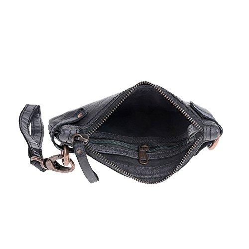 Dudu - Sac porté épaule - TImeless - Pochette - Noir Slate - Femme