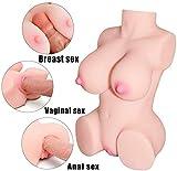 Sêx Dõll Lifelike Life-Size 3D Realistic Big Áss Pu-sseys Female Torso Doll Men Adult Toy Lightweight 100% Safetye Material