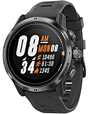 COROS APEX Pro Premium Multisport GPS Watch with 24/7 Heart Rate Monitoring, Sapphire Glass, Touch Screen, Barometer, ANT+ & BLE, Strava & TrainingPeaks (Black)