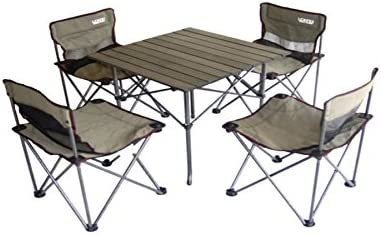 Ore International M60053 Portable Children-Feet Camping Table and Chair Set 41OL21NEjwL