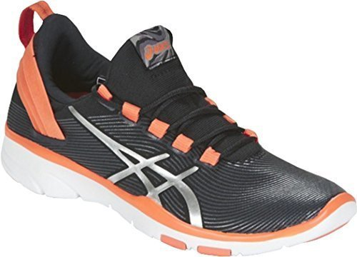 Only Sports Gear Asics Ladies Gel Fit Sana 2 Running Trainers Shoes Onyx/orange (pack Of 24 Pair) vsD2BD5S