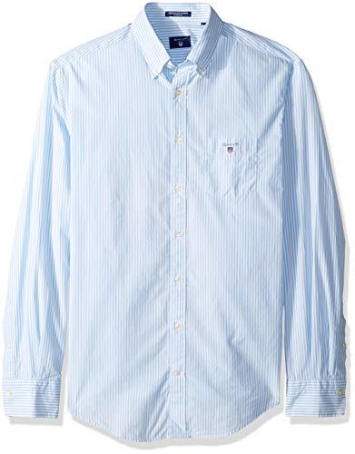 esikatselu poistomyynti aina suosittu GANT Men's The Broadcloth Banker Stripe Regular Fit Button ...