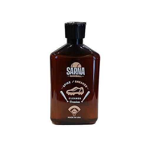 SARNA Baseball Softball Spike, Cleat and Sneaker Cleaner - Use on Baseball, Softball and Other Sports Equipment (8.0 oz) - Made in USA