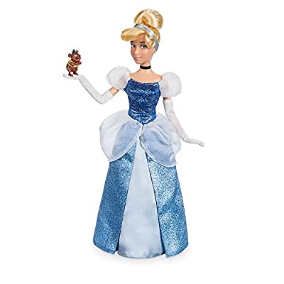 Disney Cinderella Classic Doll with Gus Figure - 11 1/2 Inch